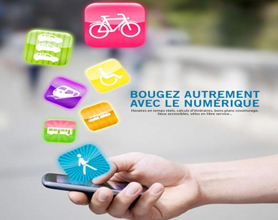Aplicativos ajudam franceses a planejar seus deslocamentos